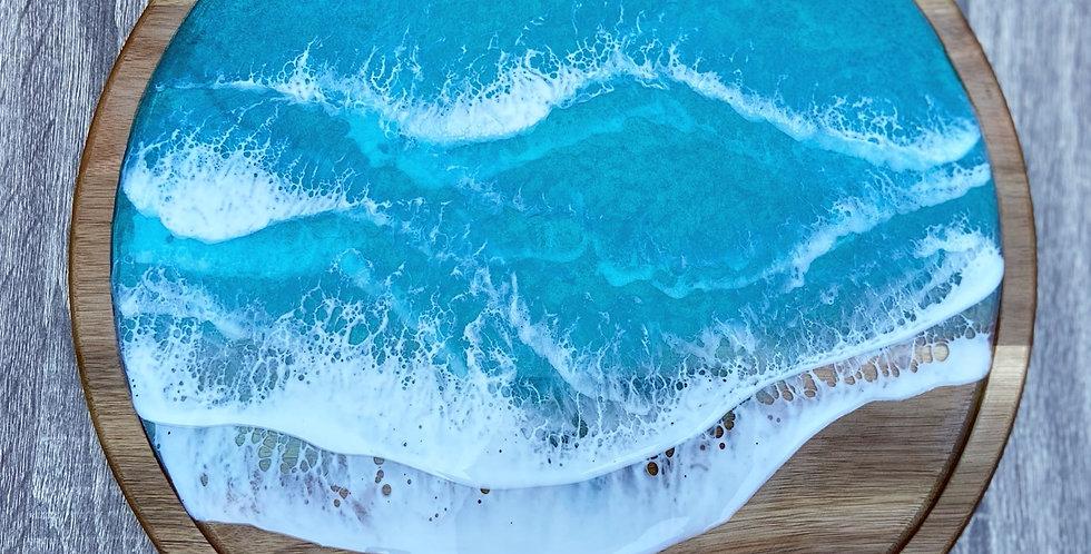 Carribean Ocean style Lazy Susan