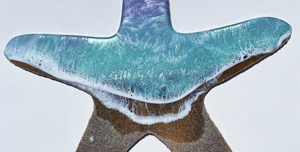 """14"""" whimsical sea star"""