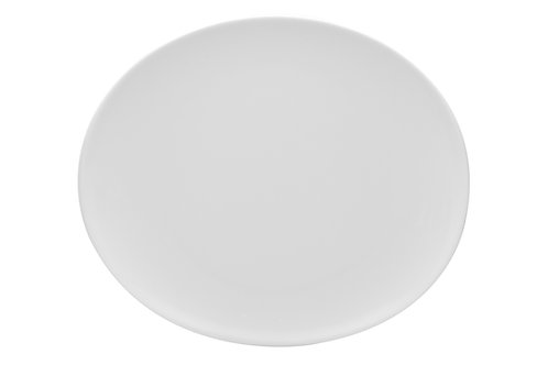 Vanilla Butterfly Dinner Plate