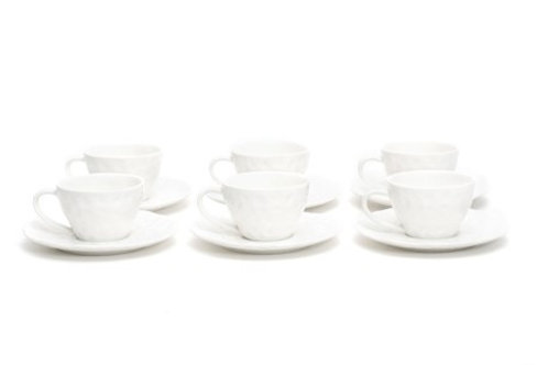Vanilla Marble Espresso C/S Set 5oz