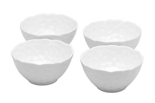 Vanilla Marble Rice Bowls 8oz Set/4