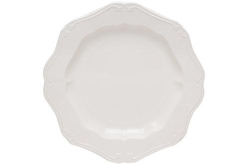 "Country Estate White Service Platter 13"""