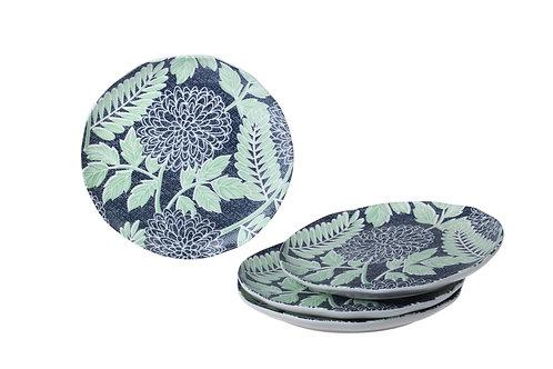 Jardin Monet Side / Salad Plate Set/4