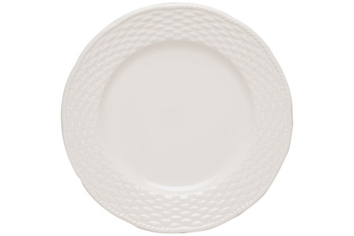 Nantucket White Round Platter