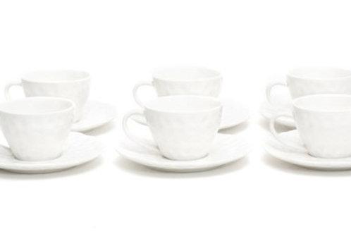 Vanilla Marble Coffee C/S Set 8.5oz