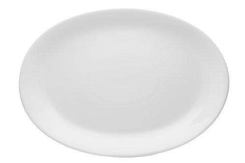 Vanilla Butterfly Large Platter