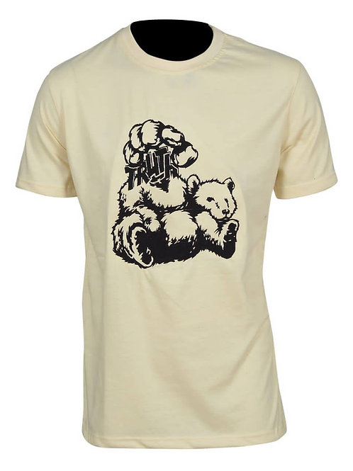 Bear Truth Stitched Graphic Tee - 03