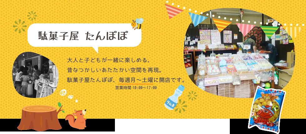 NPO法人SAJAたんぽぽ_駄菓子屋たんぽぽ