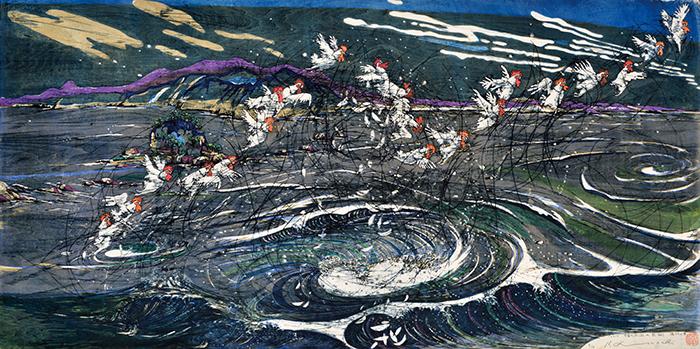 2017 宇宙の詩(起・承・転・結)-鳴門の華