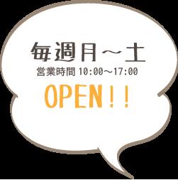 NPO法人SAJAたんぽぽ_駄菓子屋たんぽぽ営業日