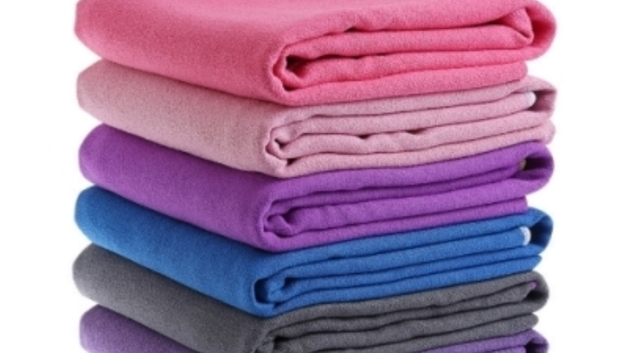 Solid Colors Yoga Towels