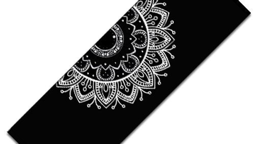 Romi Love Black and White Mandala Yoga Mat