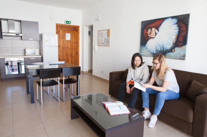 EC Malta shared appartment