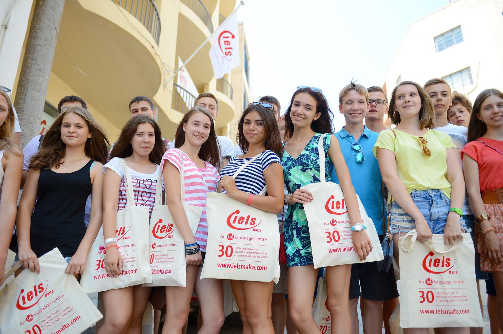 IELS Malta  Students
