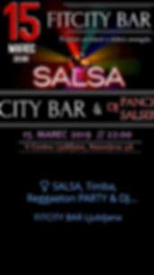 ❣️ SALSA, Timba, Reggaeton PARTY & DJ Panchito ❣️ | 15.3.2019