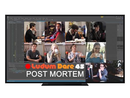 🔴Live Ludum Dare 45 - Post Mortem