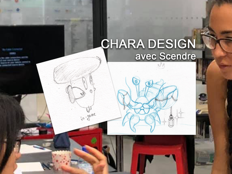 Press Start : Scendre - Atelier Dessinez votre personnage de jeu vidéo
