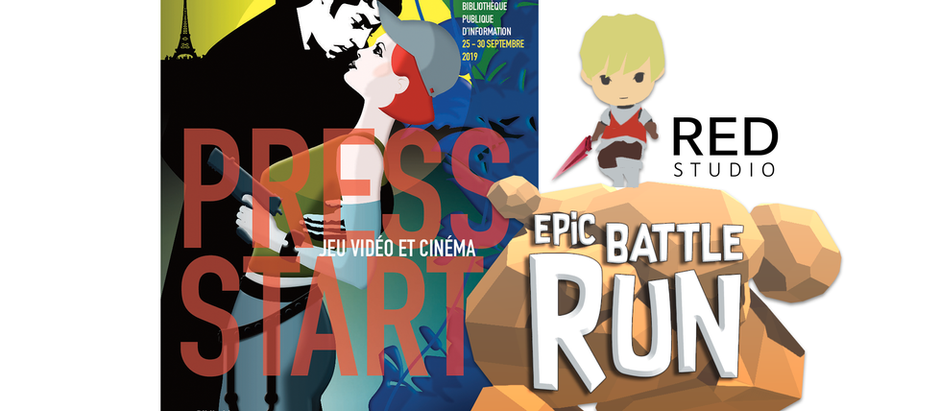 Présentation d'Epic Battle Run à Press Start