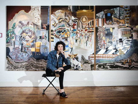 Painter Kelsey Anne Heimerman Talks Hustling for Breakthroughs on the Artist Uprising Podcast