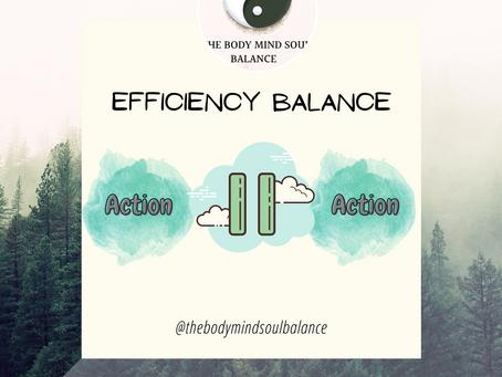 Yin Yang as a key to efficiency