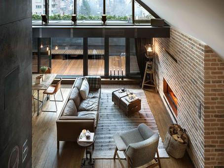 Vintage Modern Hipster Apartment