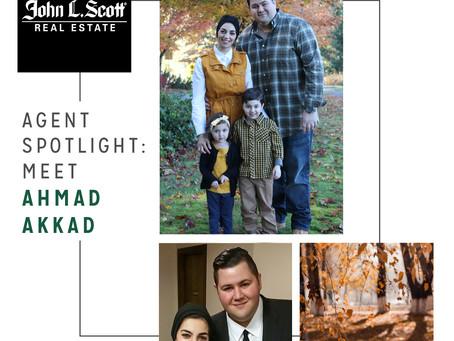 Agent Spotlight: Meet Ahmad Akkad!