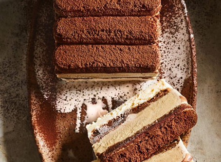 Tiramisu Ice Cream Layer Cake by Donna Hay