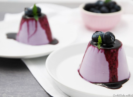 "Blueberry Panna Cotta for: Sereyleak ""Lea"" Pen"