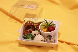 닭강정&주먹밥 도시락
