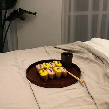 에그마요 유부초밥
