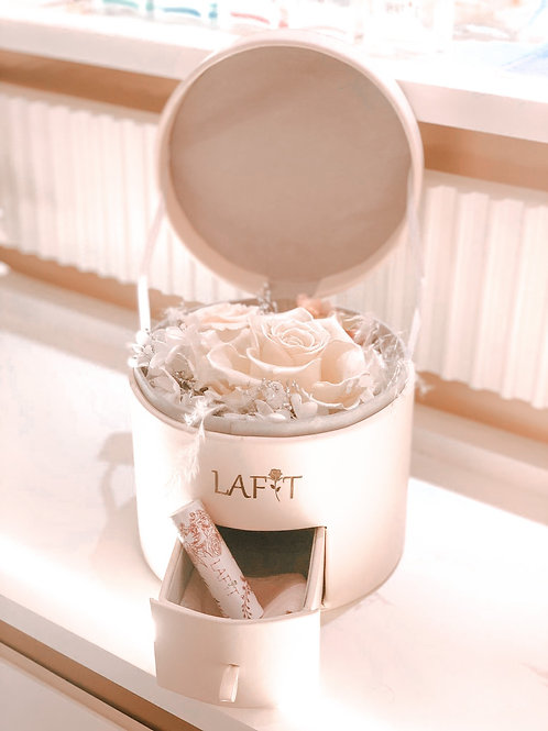 Frenchy Rose Box - with Lipstick