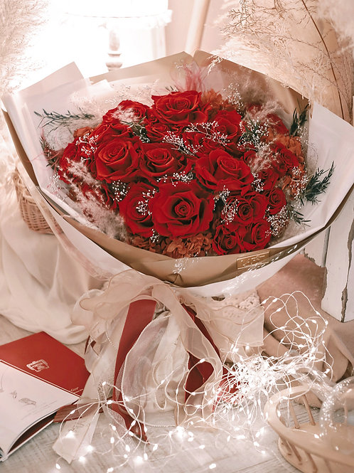 MY KINDA PERFECT - DELUXE RED (20 stems)