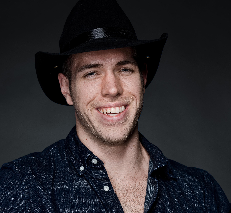 Artista País chapéu de vaqueiro