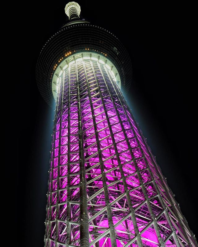 the #Tokyo #東京 #skytree was once the tallest tower in the world