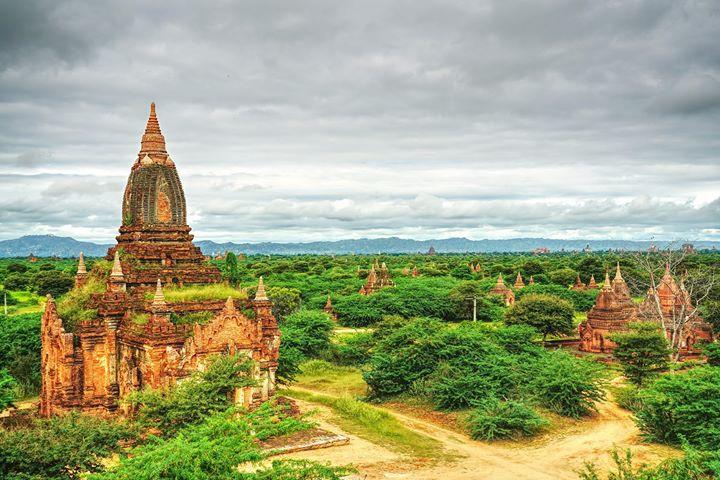 temple view bagan