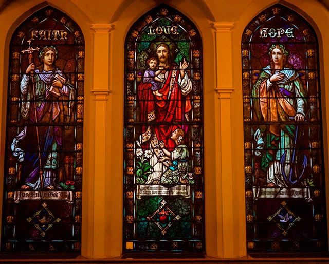 #faith #love #hope _ #church #stainedglass #travel #traveling #photography #pittsburg #usa