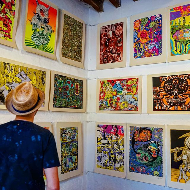 #grafic #art #museum _ #oaxaca #mexico -_#travel #traveling #travelgram #instatravel #wanderlust #backpacking #adventure #world #photography