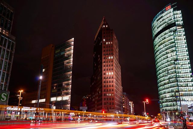 #lighttrails in #central #berlin _ #travel #traveling #prAna #photography #germany
