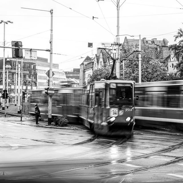 I'm always drawn to taking #photos of moving #objects _ #wroclaw #poland #blackandwhite _ #travel #traveling #travelgram #instatravel #wande