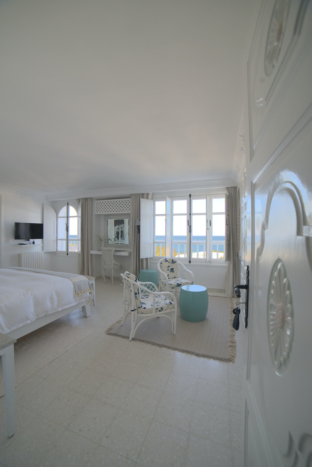 seaview room villa edo