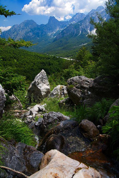 valbona national park albania