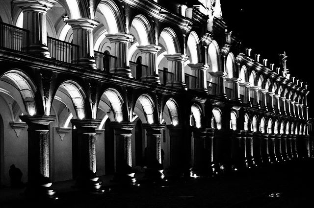 #welcome to #antigua the #old #capital of #guatemala but still the most #historic _ #antiguaguatemala #guatemala _ #blackandwhite -_#travel_
