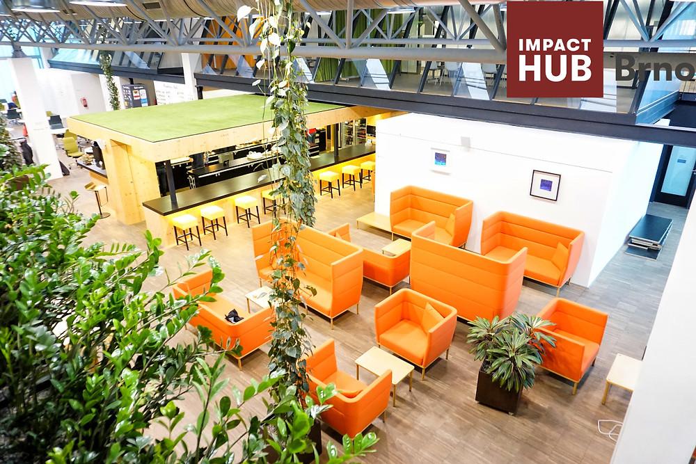 lobby impact hub brno