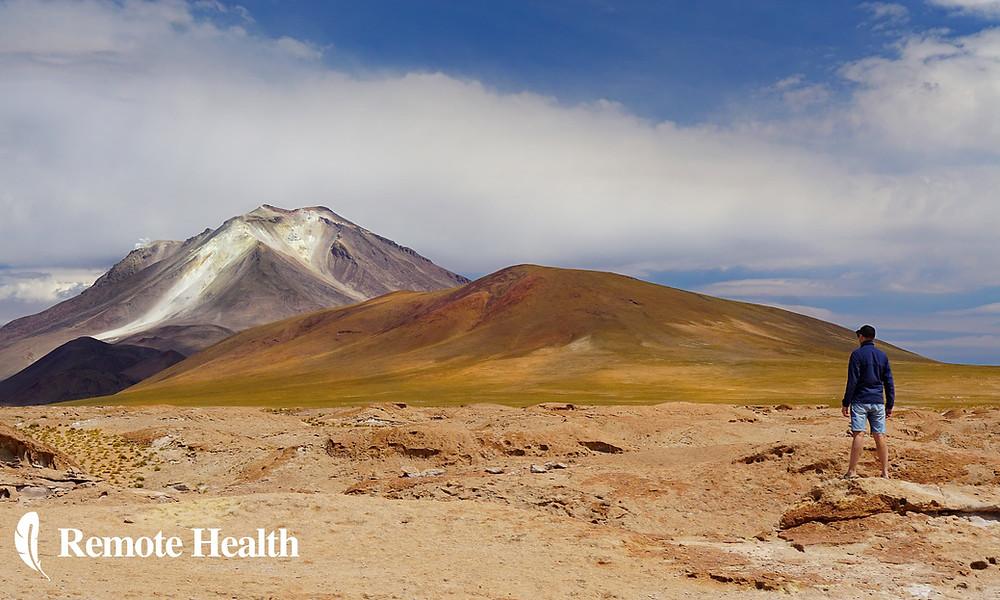 me in boliva national park