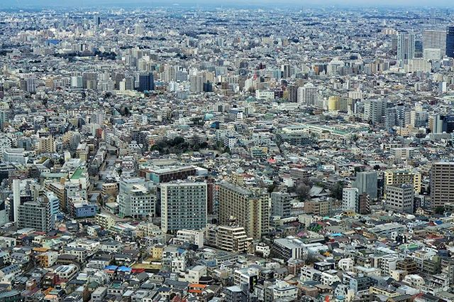 #tokyo from the #sky _ the largest #city on #earth with over 14m #people is a marvel from up here