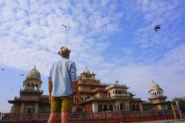 #Albert #hall #museum named after #king #Edward _ #jaipur #india -_-_#travel #traveling #travelgram #instatravel #wanderlust #backpacking #g