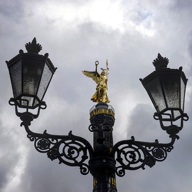 The #Berlin #victory #column #gold always seems to make a nice #photo _ #travel #traveling #travelgram #instatravel #wanderlust #backpacking