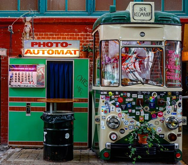 #vintage #Berlin #photobooth _ #travel #traveling #germany #photography