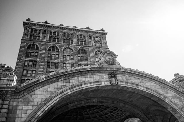 The #original #train #station in #downtown #Pittsburg #USA _ #travel #traveling #photography #blackandwhite