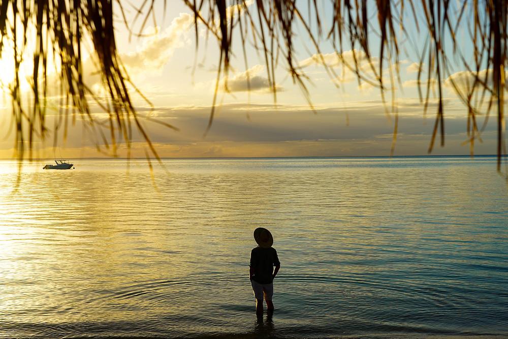 sunset at azura with travelwithcarlo